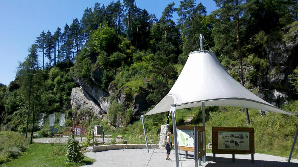 Ortszentrum Obertrubach - Fränkische Schweiz