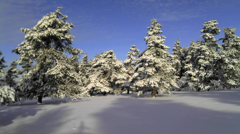 Winterromantik in der Fränkische Schweiz