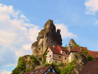 Felsendorf Tüchersfeld - Fränkische Schweiz