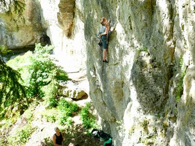 Ein Kletterparadies der Fraenkischen Schweiz