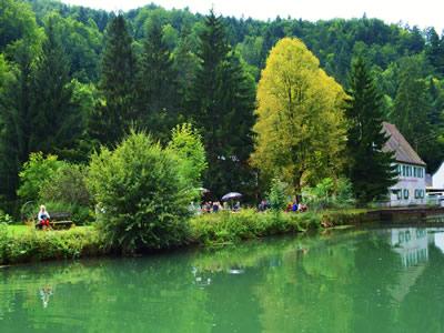 Baden und Biergarten Sachsenmühle
